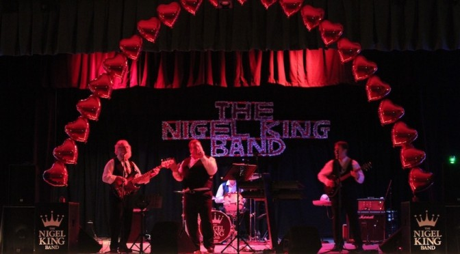 promo image for the Nigel King Band