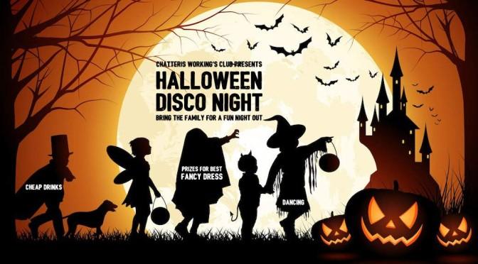 halloween isco night promo image