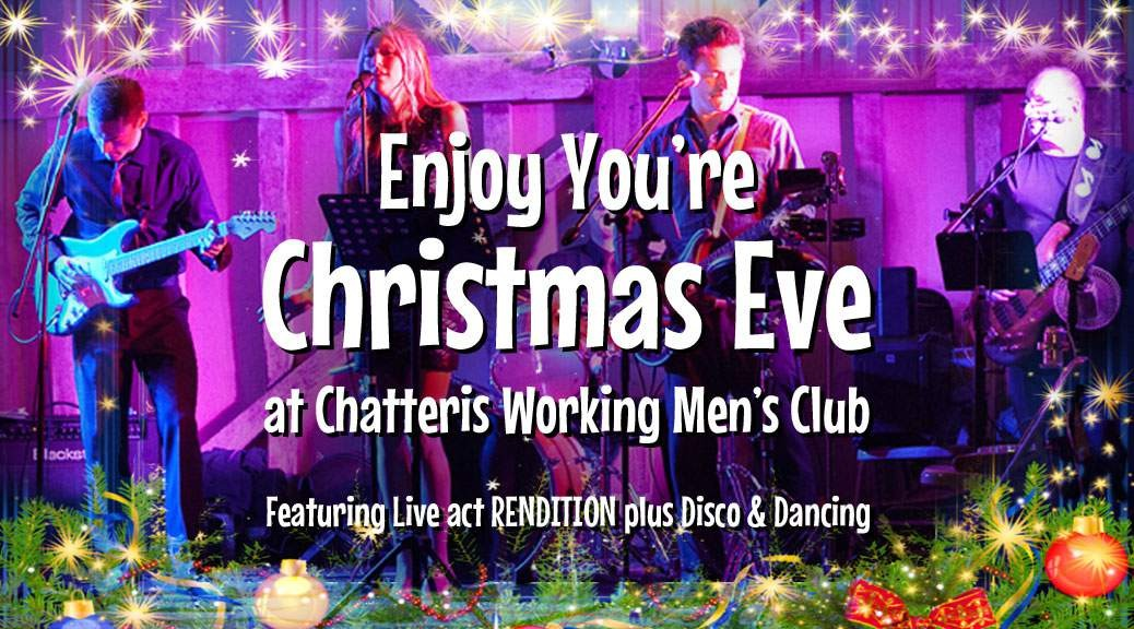 promo image for Christmas Eve in Chatteris at CWMC event