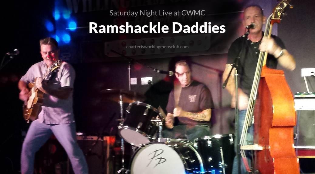 Ramshackle Daddies, Saturday Night Live, free gigs header image