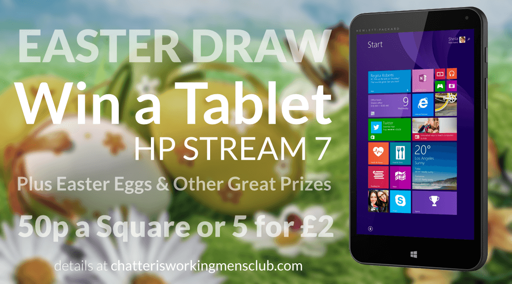 Easter Prize Draw 2015, promo image