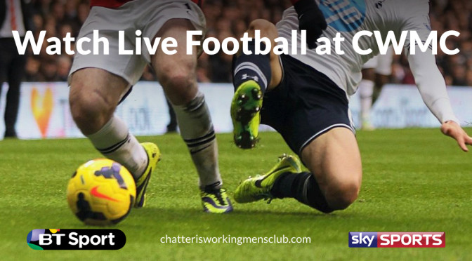 live football in Chatteris at CWMC promo image